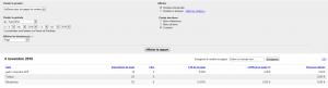 Ancien Rapport de l'interface AdSense